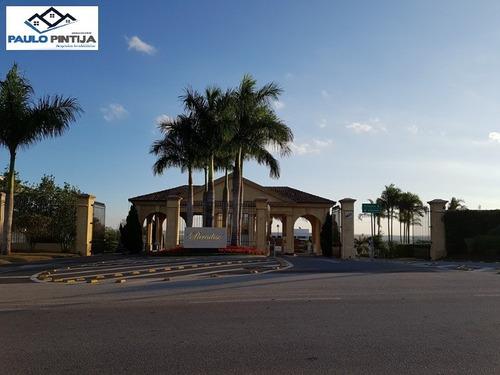 Terreno De 842m No Condomínio Fechado De Alto Padrão Jardim Paradiso Em Indaiatuba - Te01596 - 69429744