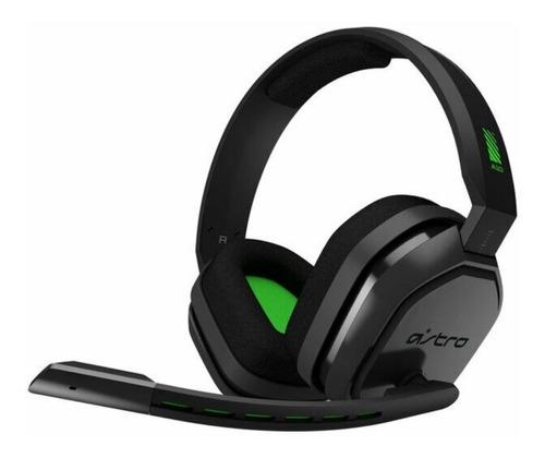 Imagem 1 de 5 de Headset Gamer Astro A10 Gray/green Xboxone/ps4/switch/pc S/j