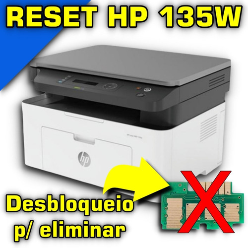 Reset Impressora 135w Ou 135a