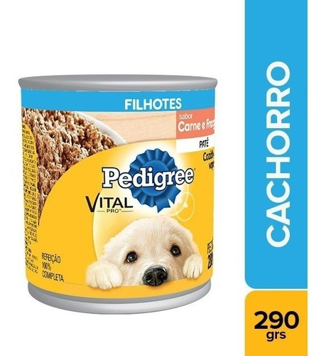 Alimento Perro Pedigree Lata Cachorro Car/pollox280g(pack6u)