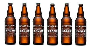 Cerveza Patagonia Hoppy Lager Pack X 6 X 730ml. - Envíos