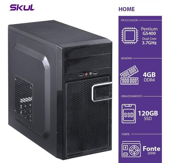 Computador Home H200 - Pentium Dual Core G5400 3.7ghz 4gb Dd