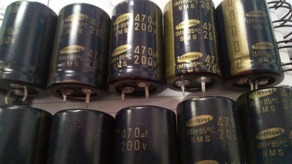 Capacitor 470uf 200v
