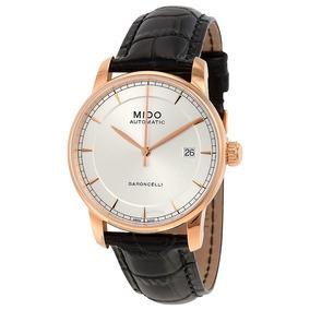 Relógio Mido Baroncelli Ii M86003104 Automatico 38mm Rose