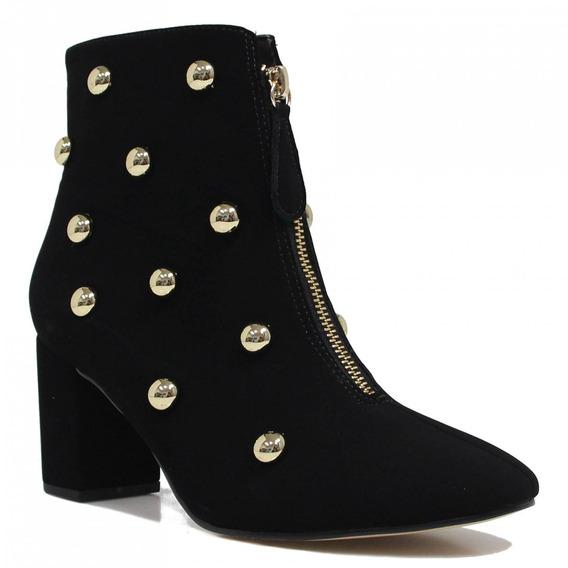 Bota Zariff Shoes Ankle Boot Zíper 3707011