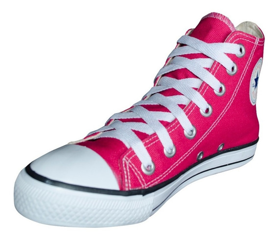 Tênis Converse All Star Chuck Taylor Cano Alto Rosa Pink