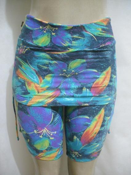 Shorts Bermuda Saia Ginastica Fitness Cotton Cotton Tam P