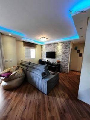 Imagem 1 de 19 de Cobertura Com 2 Dormitórios À Venda, 82 M² Por R$ 530.000 - Vila Curuçá - Santo André/sp - Co1204