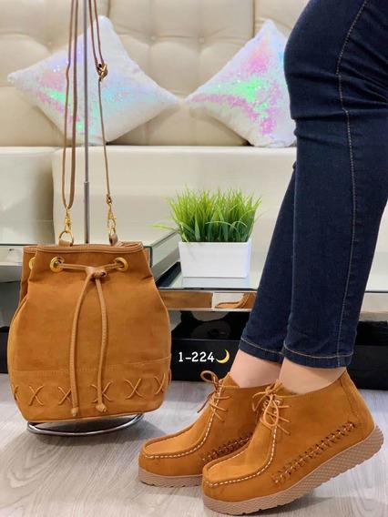 Zapatos Para Dama Casual (combo 2 Pzas)
