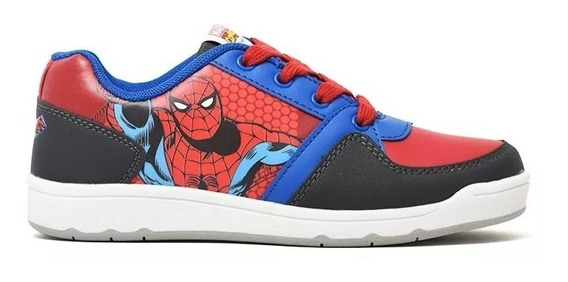 Zapatilas Spiderman Hombre Araña Cordones Marvel Ftycalzados