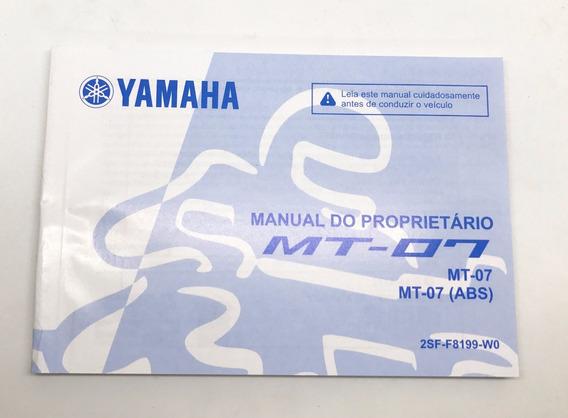 Manual Proprietário Mt 07 Yamaha