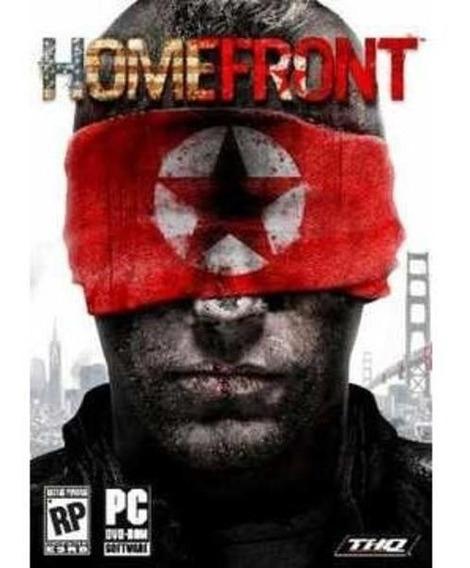 Jogo Pc Dvd - Homefront - Lacrado - Game Pc Dvd