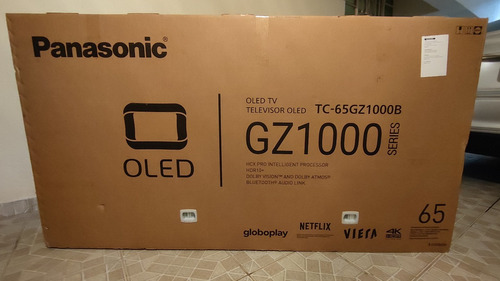 Imagem 1 de 7 de Smart Tv Panasonic Oled 65 4k Tc-65gz1000 Na Caixa