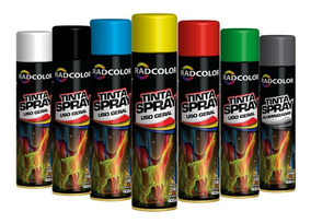 Tinta Spray Radcolor Todas As Cores 400ml Uso Geral Promoção