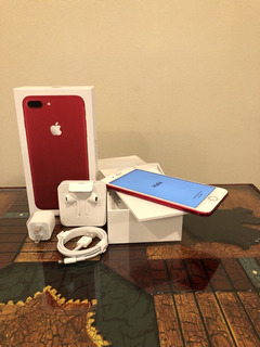 Apple iPhone 7 Plus Red(product)128gb Impecable Factura Imei