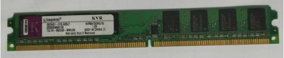 Memoria Ram Ddr2 667 Mhz Usada 1 Gb Kingston
