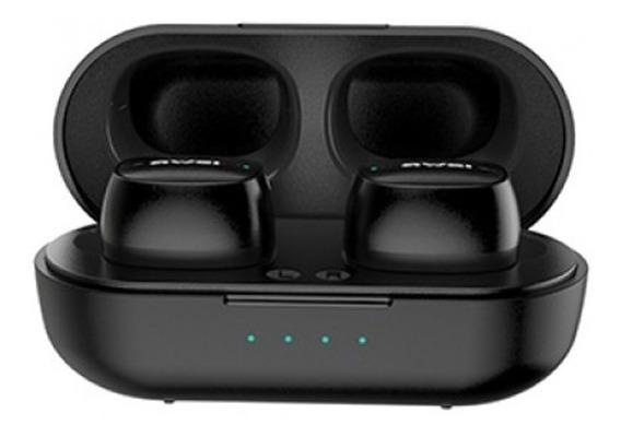 Fone De Ouvido T13 Awei Bluetooth Tws C/case - Frete Grátis