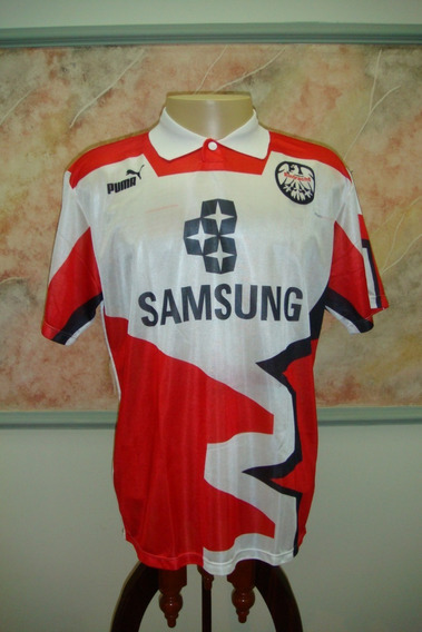 Camisa Futebol Eintracht Frankfurt Alemanha Puma Antiga 340