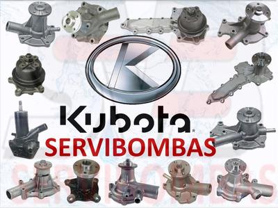 Bomba De Agua Automotriz Kubota Guatemala