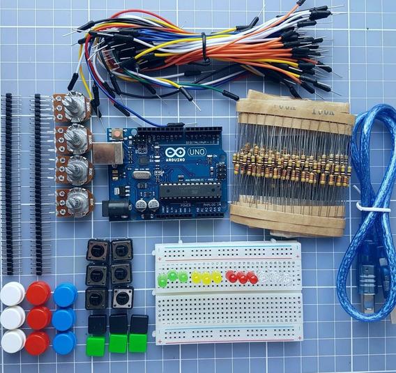 Kit Arduino - Curso Scratch Para Professores - Ensino Maker