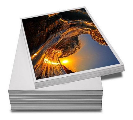 Papel Fotográfico Adesivo A4 Glossy 135g 500 Folhas Premium