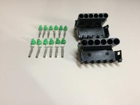Kit Conectores Tipo Delphi 6 Vias Completo