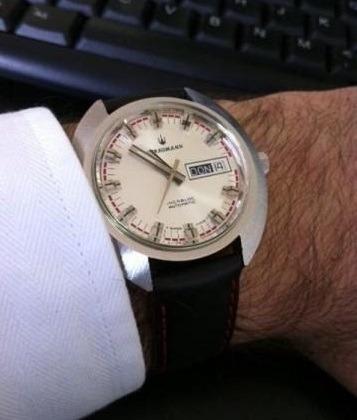 Relógio Straumann Swiss Automático Vintage Raríssimo Trocas