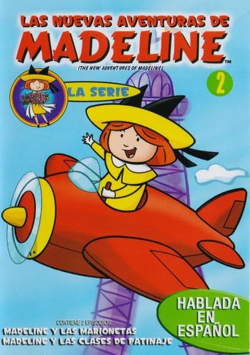 Imagen 1 de 3 de Las Nuevas Aventuras De Madeline Volumen 2 Dos Serie Dvd