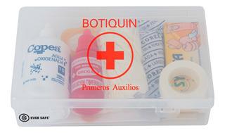 Botiquín Primeros Auxilios Eversafe 20 Elementos Para Auto Apto Vtv Modelo Pb