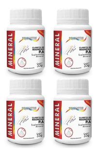 Cloreto De Magnésio Pa Em Pó - 4x 33 Gramas - Melcoprol