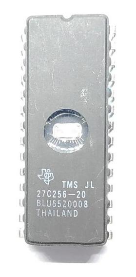 Componente Eletrônico 27c256-20 Com Janela/ 27c256 Kit Com 5pçs
