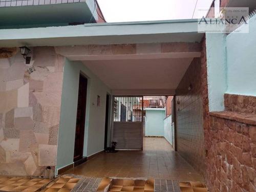 Imagem 1 de 19 de Casa Com 3 Dormitórios À Venda, 284 M² Por R$ 640.000,00 - Rudge Ramos - São Bernardo Do Campo/sp - Ca0357