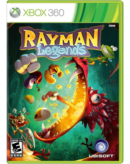 Game Rayman Legends Xbox360 Disco Fisico Lacrado Nacional Br