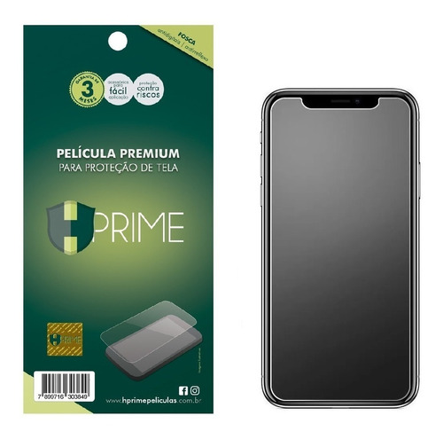 Imagem 1 de 3 de Película Hprime Fosca Premium 4h P/ iPhone X Xs 11 Pro 5.8