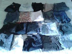 Lote Shorts Feminino Tm 40 Super Promocao