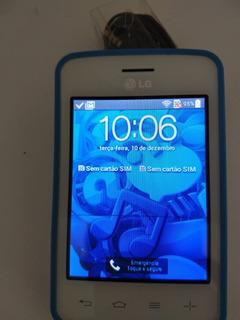 Celular Smartphone Lg L30 D125, Tela 3,2 Usado Leia