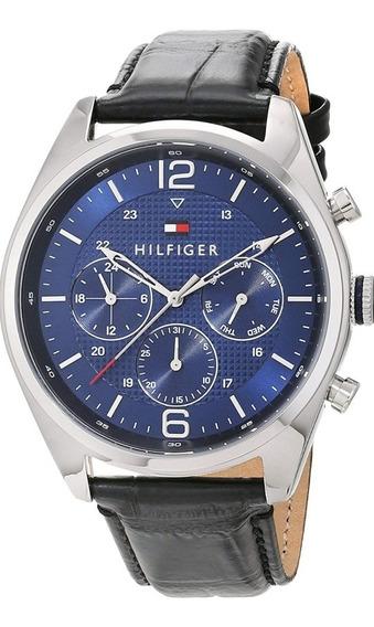 Reloj Tommy Hilfiger Extensible Cuero Negro