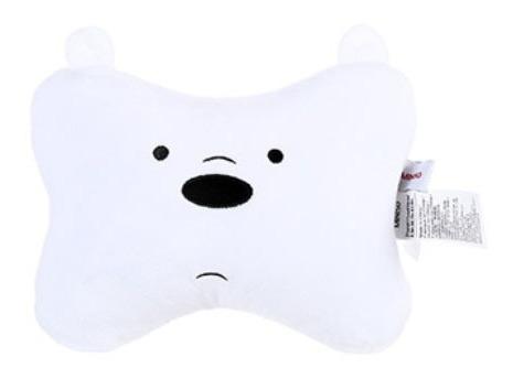 Almofada Para Encosto Ursos Sem Curso Miniso - Polar