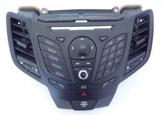 Teclado Bisel Estereo Panel Original Ford Fiesta 2013-2015