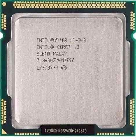 Processador Intel 1156 Core I3 540 3.06ghz .