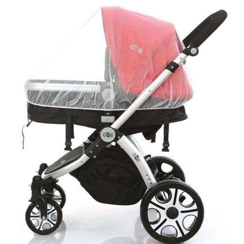 Mosquiteiro De Poliéster Para Carrinho De Bebê