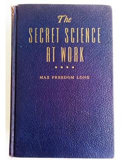 Metafisica The Secret Science At Work 1953 Envio Gratis