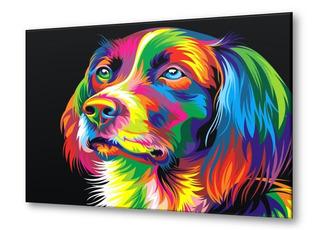 Cuadro Perro Pintado Oleo Sobre Lienzo + Envio Gratis