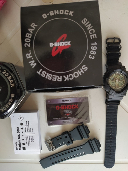 Relógio Casio G Shock Ga100