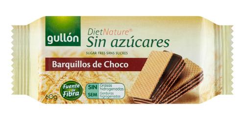 Imagem 1 de 2 de Wafer De Chocolate Gullon Zero Açucar 60g