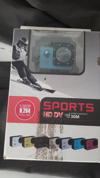 Câmera Go Sports Hd Dv 1080p Full Hd