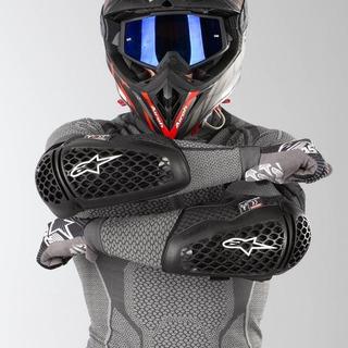 Cotoveleira Alpinestars Bionic Plus Motocross Trilha Street