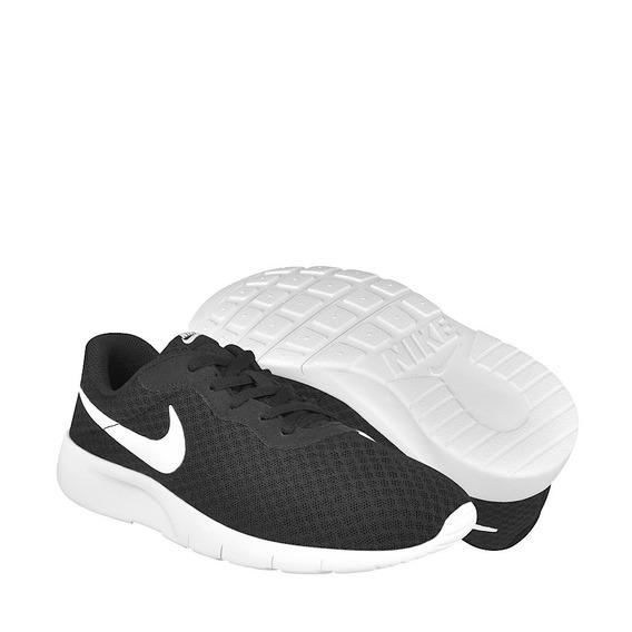 Tenis Mujer Nike 818381011 Negro Con Blanco 23-25