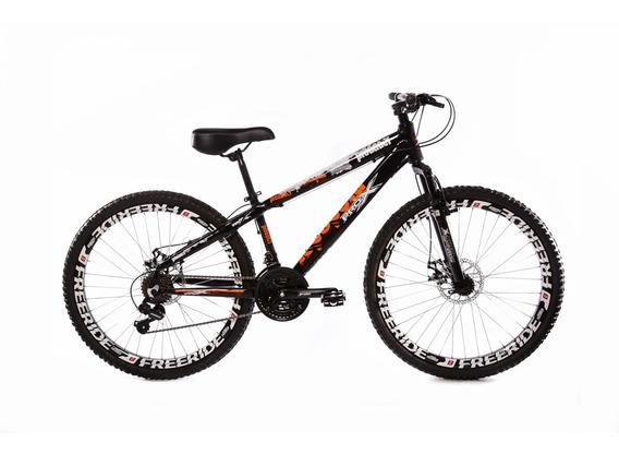 Mountain Bike Prox Predador Freeride Aro 26 Freio Disco 21v
