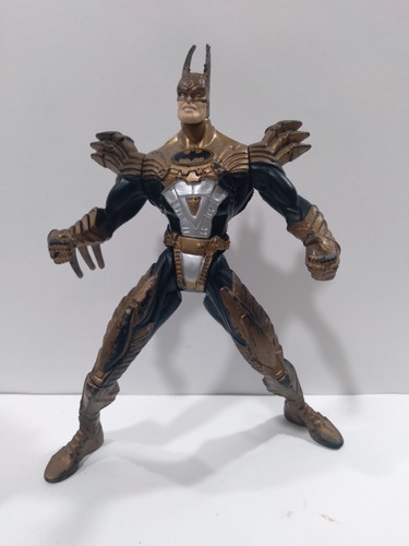 Batman Kenner 1997 Spline Cape Negro Dorado